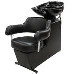Мойка парикмахерская МЭГГИ с креслом САТУРН раковина белая средняя