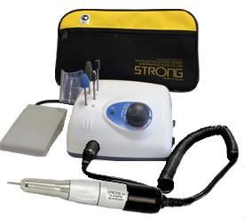Аппарат для маникюра и педикюра Strong 210/120 (с педалью в сумке)