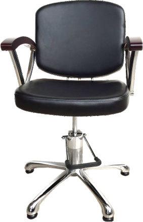 """Парикмахерское кресло """"А43В""""на гидравлике пятилучье хром"""