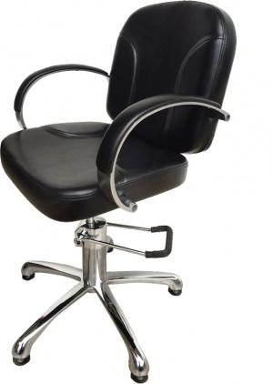 """Парикмахерское кресло """"А45В""""на гидравлике пятилучье хром"""