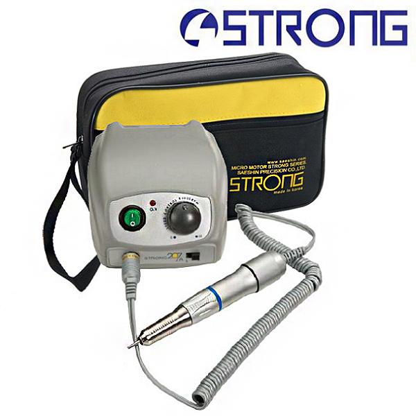 Аппарат для маникюра и педикюра Strong 207A/107II (без педали с сумкой)