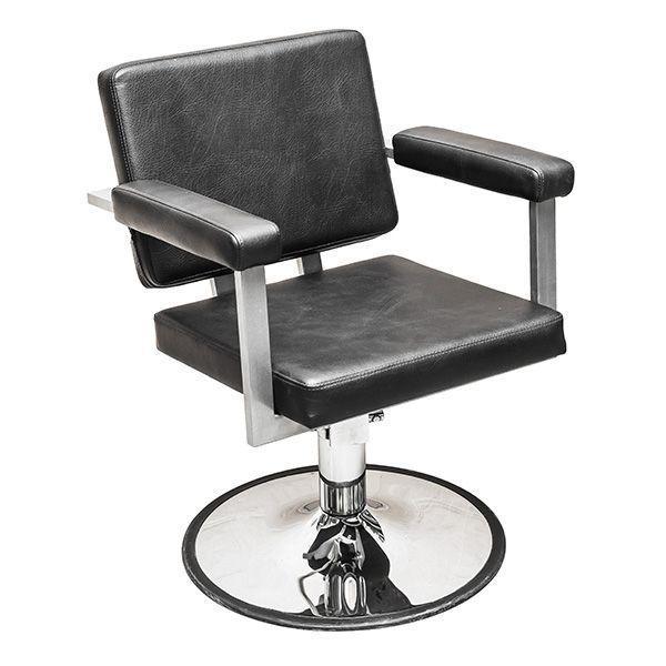 """Парикмахерское кресло """"Брут-2""""на гидравлике пятилучье хром"""