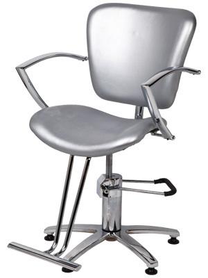 """Парикмахерское кресло """"А06В""""на гидравлике пятилучье хром"""