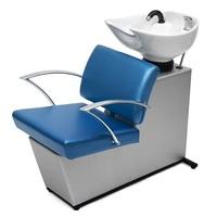 Мойка парикмахерская МЭГГИ с креслом АЛЬФА раковина средняя белая