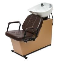 Мойка парикмахерская МЭГГИ с креслом БРИЗ раковина средняя