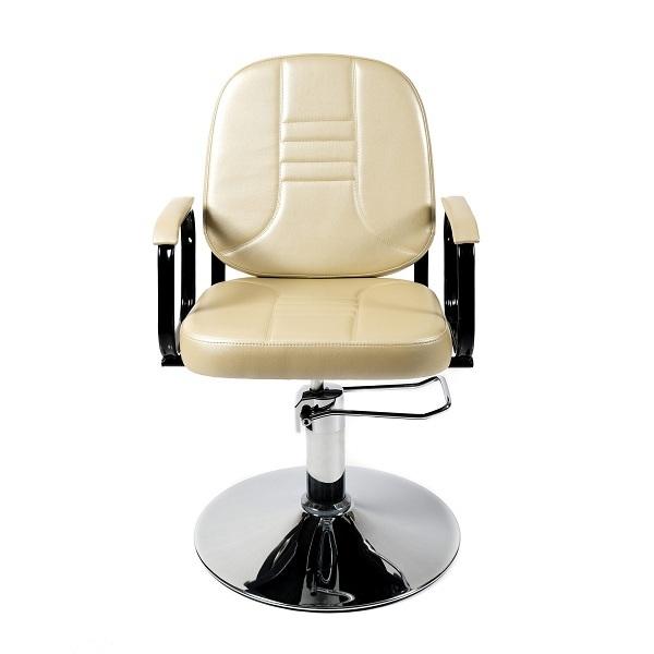 """Парикмахерское кресло """"Бриз"""" гидравлика пятилучье хром"""