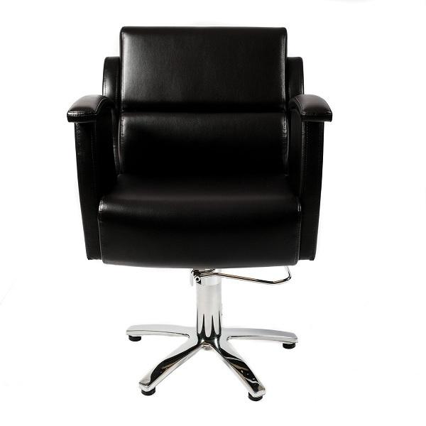 Парикмахерское кресло Ладья гидравлика пятилучье хром