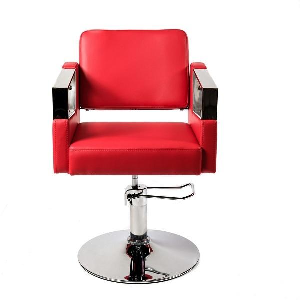 """Парикмахерское кресло """"Корнет""""гидравлика  хром"""