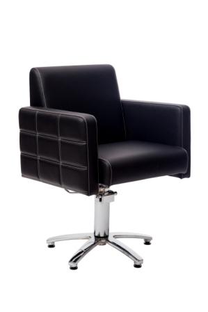 """Парикмахерское кресло""""Алекс""""на гидравлике пятилучье хром"""